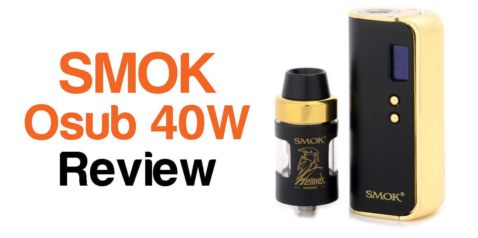 smok osub 40 kit review