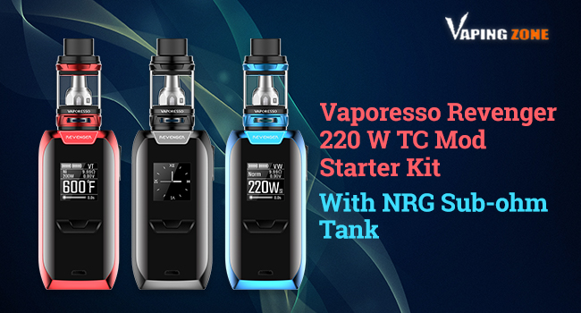 Vaporesso Revenger 220W Review