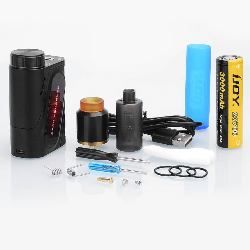 Ijoy Capo 100W Squonk Kit review
