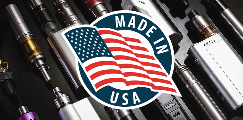 Electronic Cigarette Made in USA
