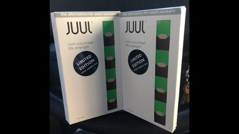 Juul Cool Cucumber review