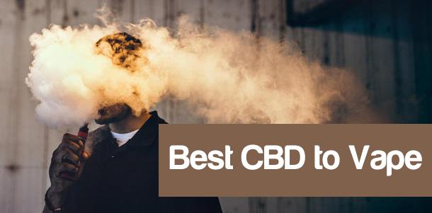 Best CBD to Vape