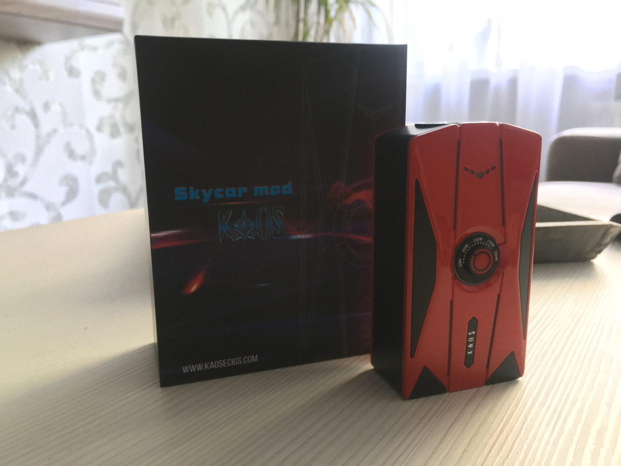 Sigelei Kaos Skycar Review