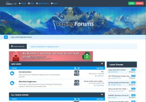 Best and the Most Popular Vaping Forums