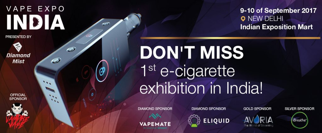 Be Ready - Vape Expo India announce the first exhibitors