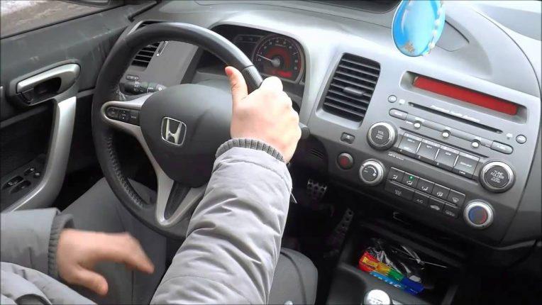 vaping in a car