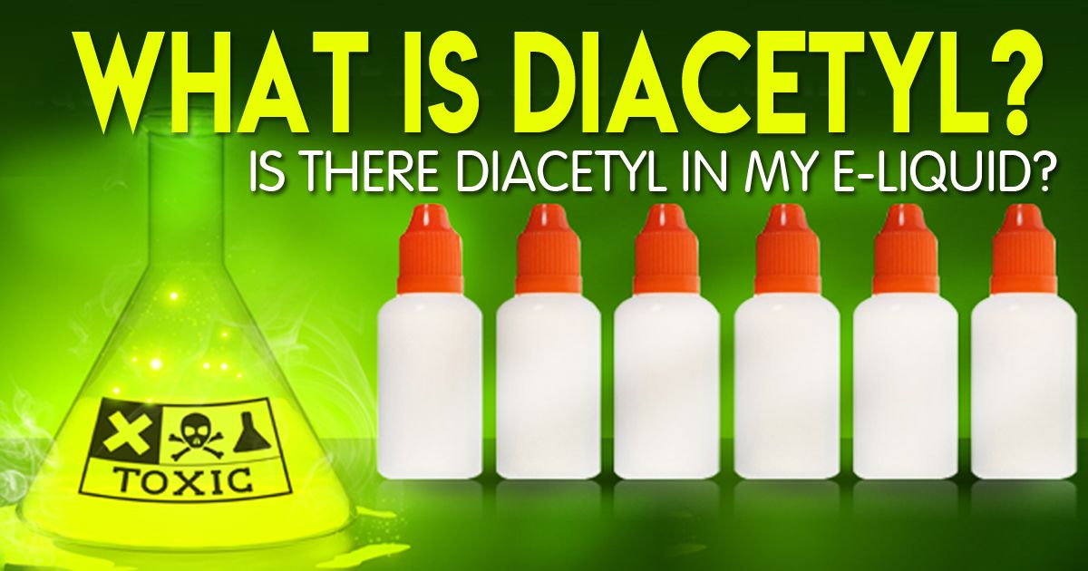 Which Vaping Liquids Contain Diacetyl