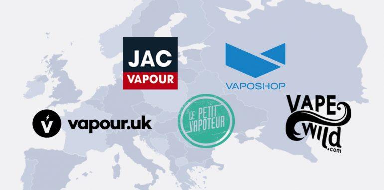 Best Online Vape Shops in Europe