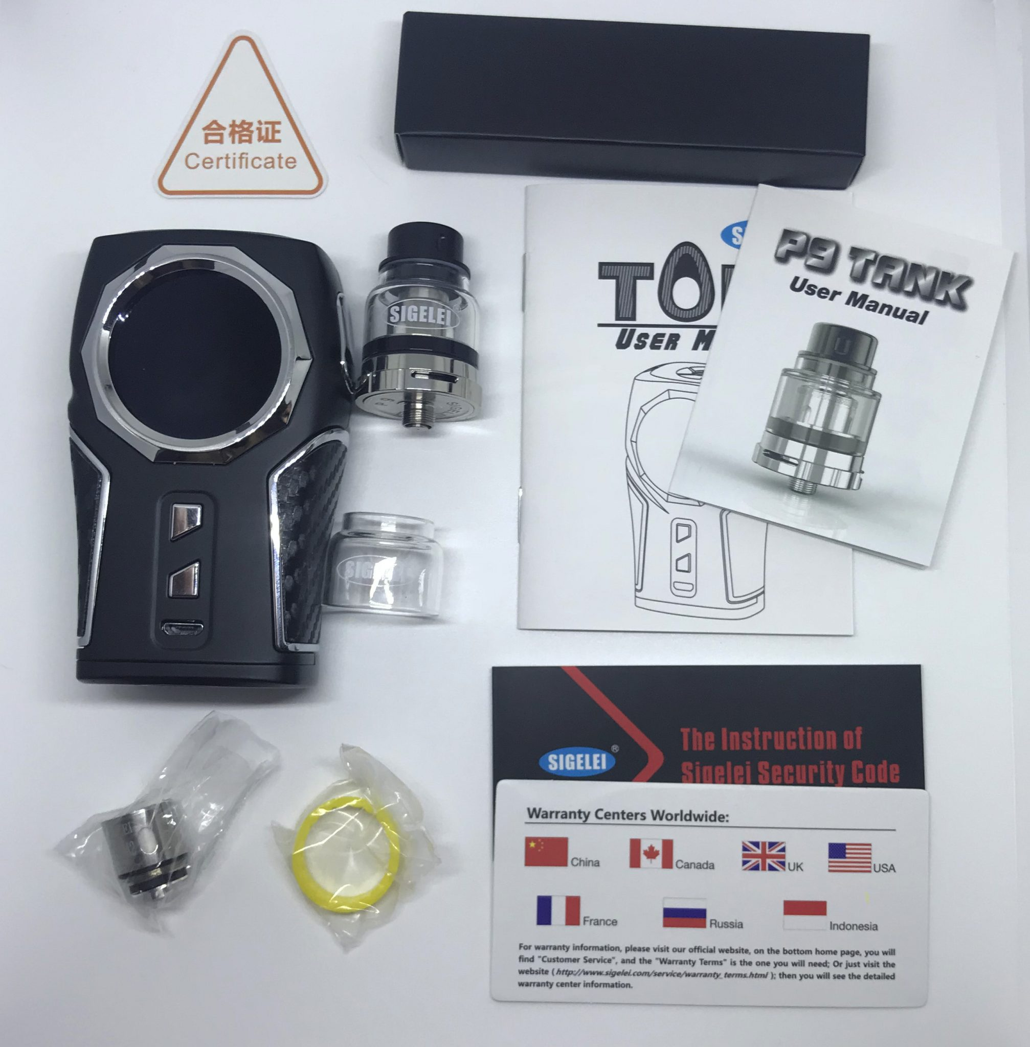 Sigelei Top 1 Starter Kit Review