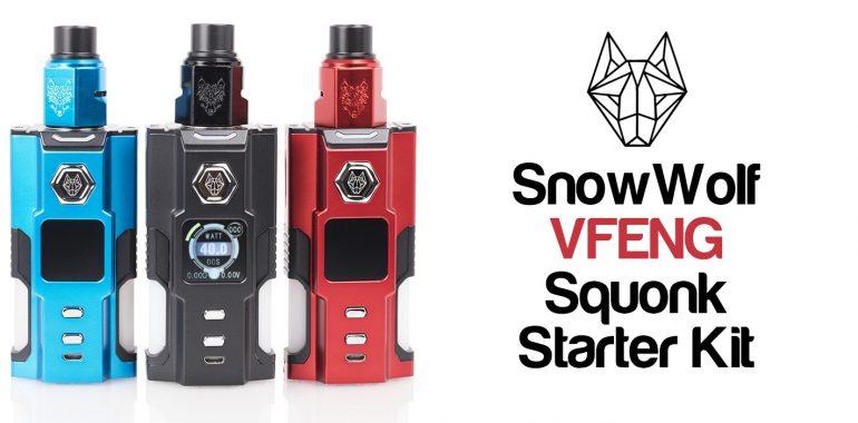 SnowWolf VFENG Squonk Starter Kit Review