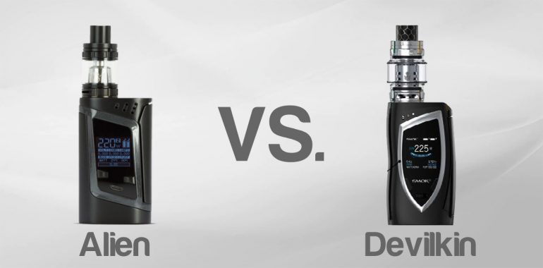 SMOK alien vs devilkin