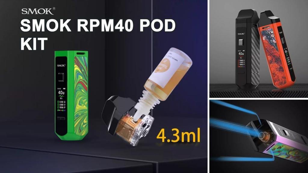 SMOK RPM 4 60W POD KIT Review